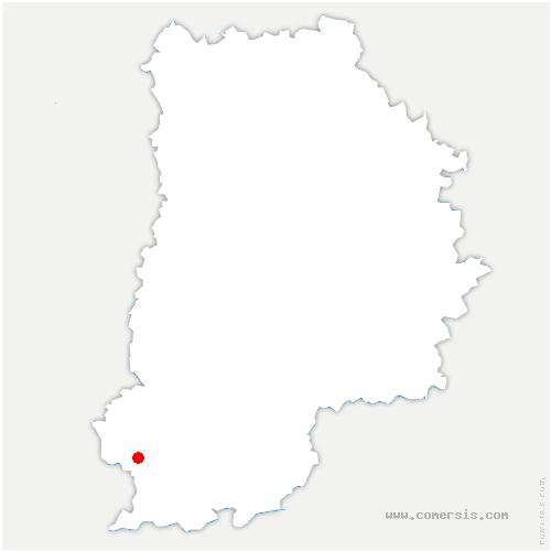 carte de localisation de Fromont