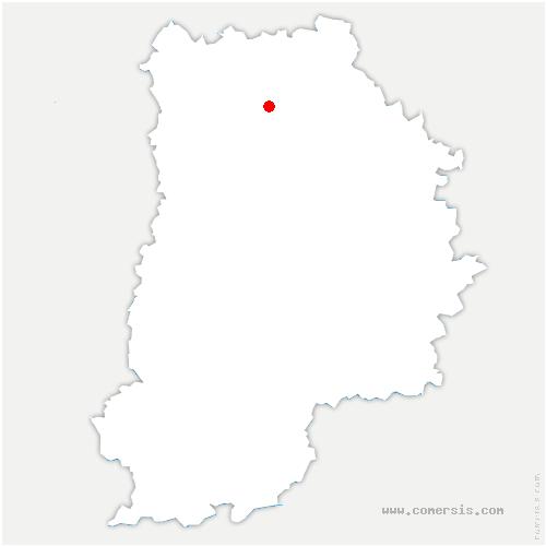carte de localisation de Fublaines
