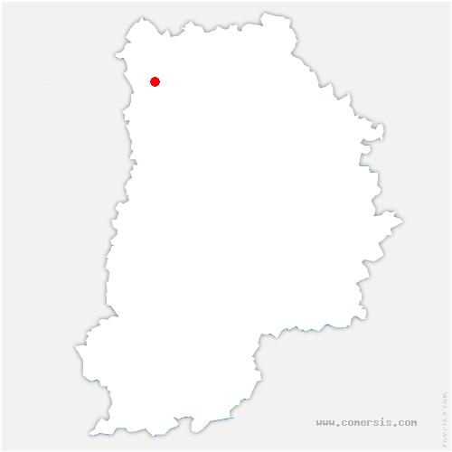carte de localisation de Gressy