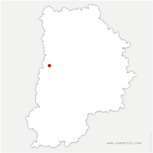 carte de localisation de Grisy-Suisnes
