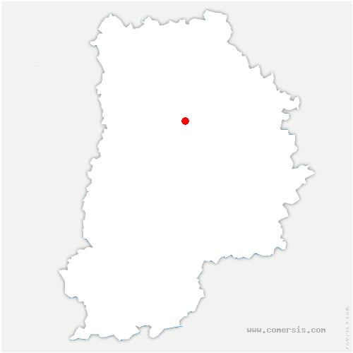 carte de localisation de Hautefeuille