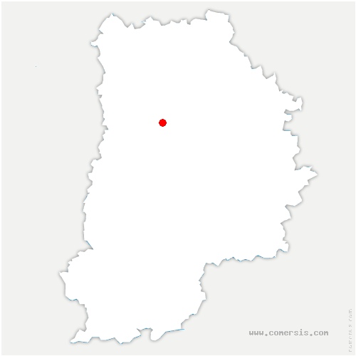 carte de localisation de Houssaye-en-Brie