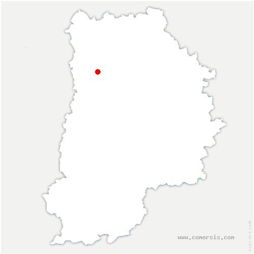 carte de localisation de Jossigny