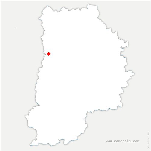 carte de localisation de Lésigny