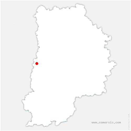 carte de localisation de Lieusaint