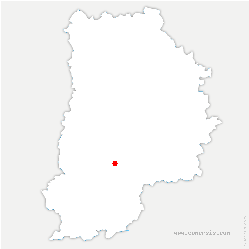 carte de localisation de Machault