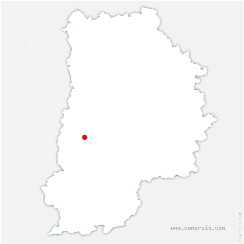 carte de localisation de Maincy