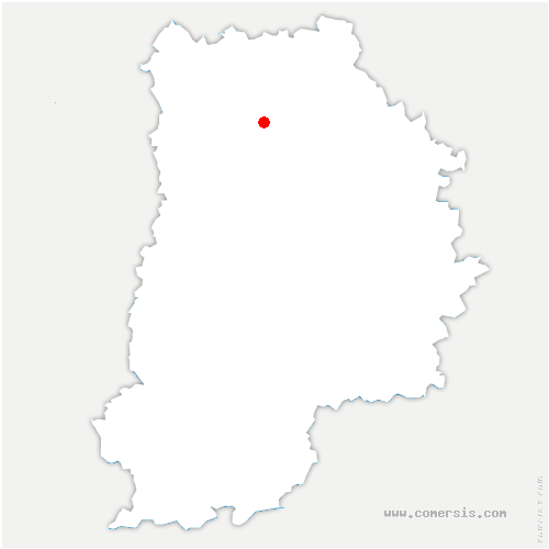 carte de localisation de Mareuil-lès-Meaux