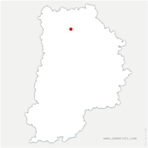 carte de localisation de Meaux