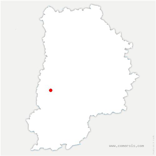 carte de localisation de Mée-sur-Seine