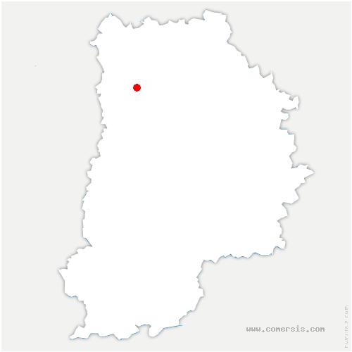 carte de localisation de Montévrain