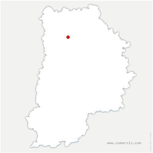 carte de localisation de Montry