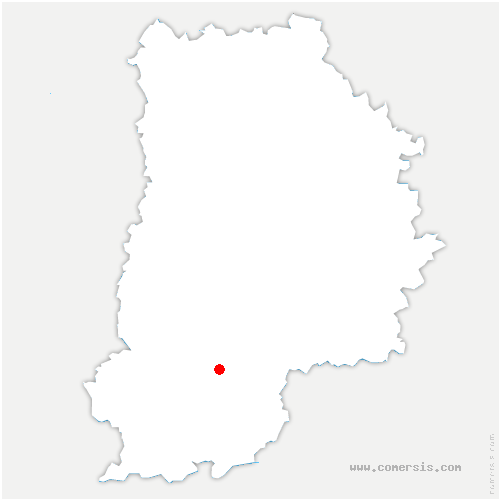 carte de localisation de Moret-Loing-et-Orvanne
