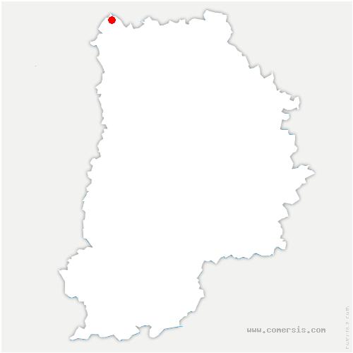 carte de localisation de Moussy-le-Neuf
