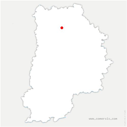 carte de localisation de Nanteuil-lès-Meaux