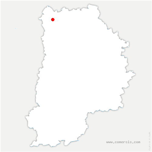 carte de localisation de Nantouillet