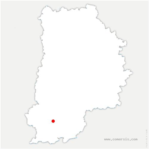 carte de localisation de Nemours