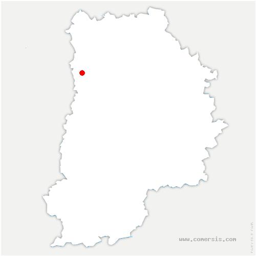 carte de localisation de Noisiel