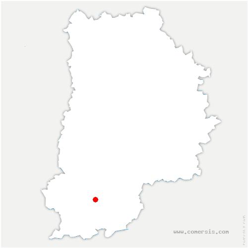 carte de localisation de Nonville