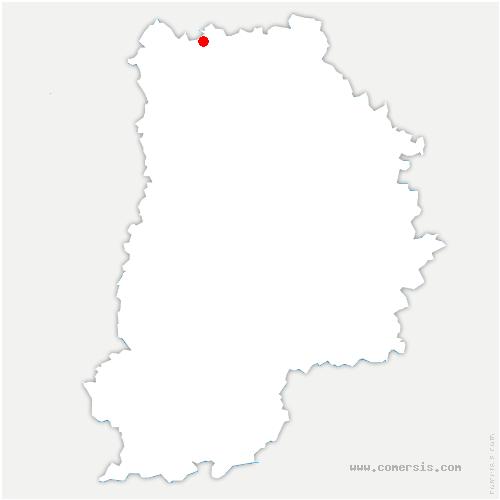 carte de localisation de Oissery