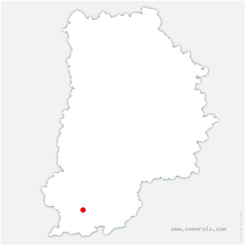 carte de localisation de Ormesson