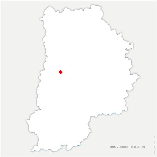 carte de localisation de Ozouer-le-Voulgis