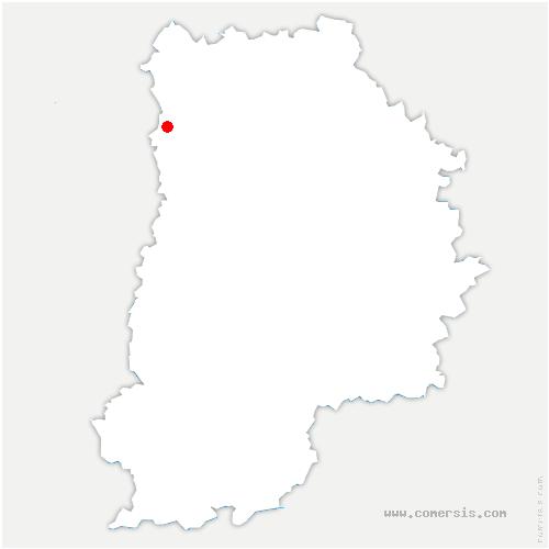 carte de localisation de Pin