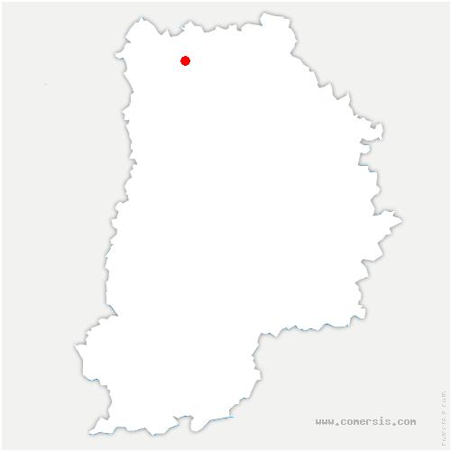 carte de localisation de Plessis-l'Évêque