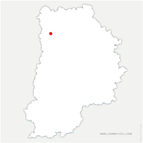 carte de localisation de Pomponne