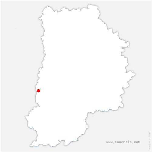 carte de localisation de Pringy