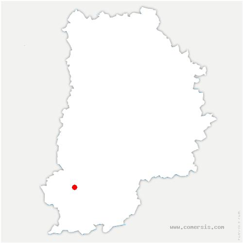 carte de localisation de Recloses