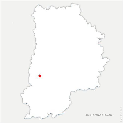 carte de localisation de Rochette
