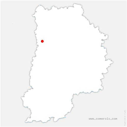 carte de localisation de Roissy-en-Brie