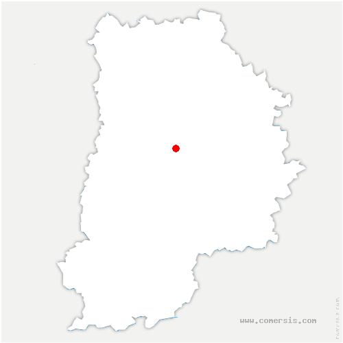 carte de localisation de Rozay-en-Brie