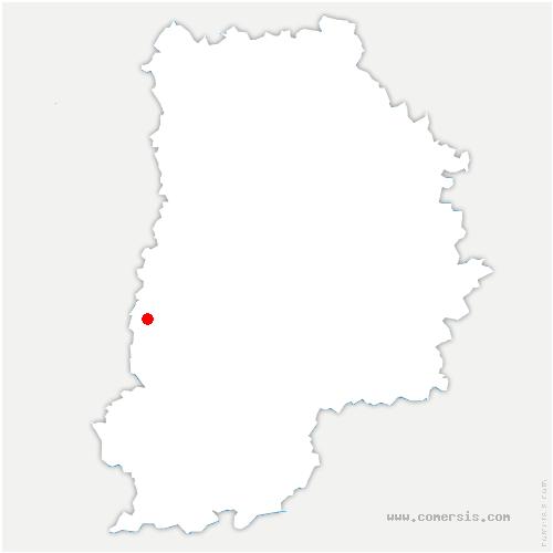 carte de localisation de Saint-Fargeau-Ponthierry