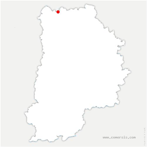 carte de localisation de Saint-Pathus