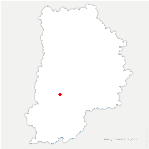 carte de localisation de Samois-sur-Seine