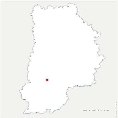 carte de localisation de Samoreau