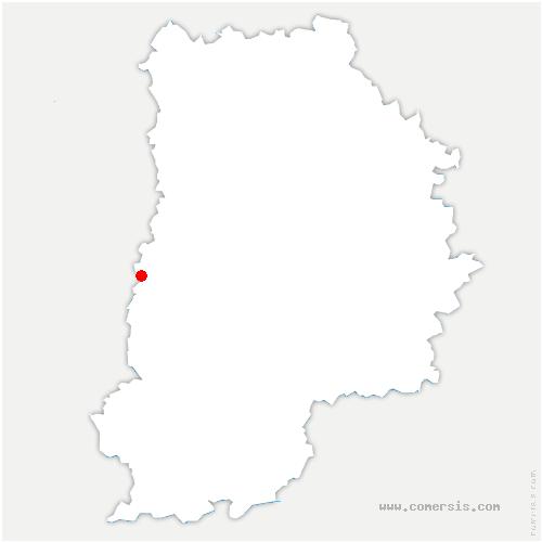 carte de localisation de Savigny-le-Temple