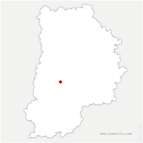 carte de localisation de Sivry-Courtry