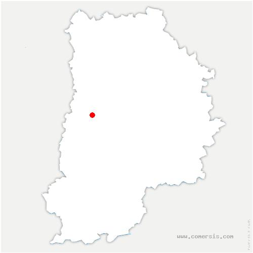 carte de localisation de Solers