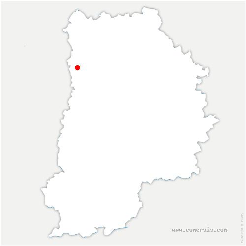 carte de localisation de Torcy