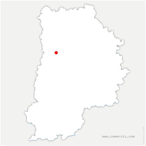 carte de localisation de Tournan-en-Brie