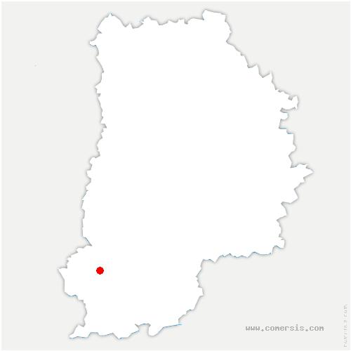 carte de localisation de Ury