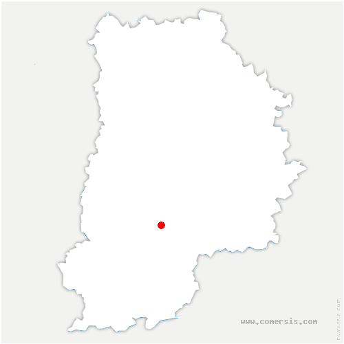 carte de localisation de Valence-en-Brie