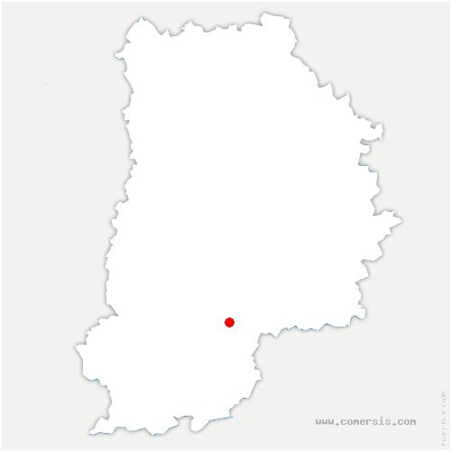 carte de localisation de Varennes-sur-Seine
