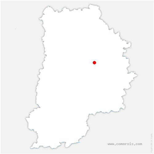 carte de localisation de Vaudoy-en-Brie