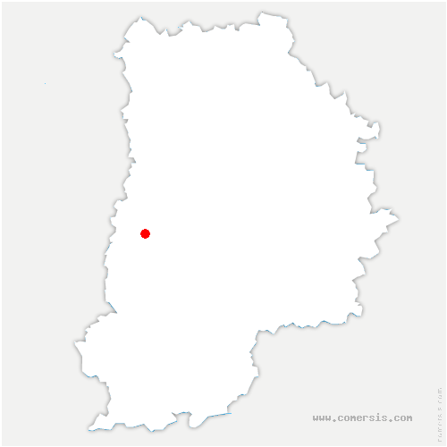 carte de localisation de Vert-Saint-Denis