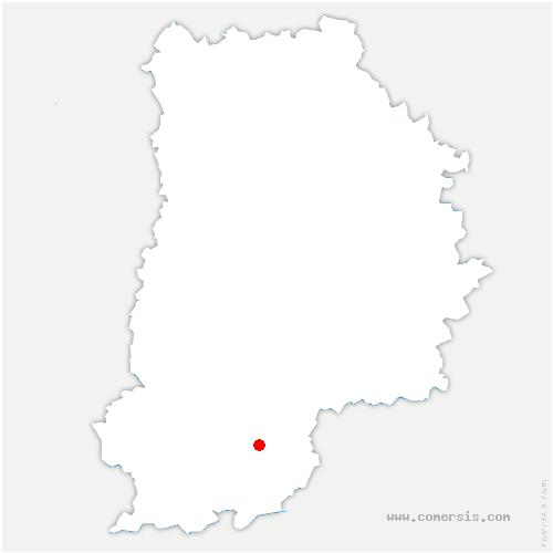 carte de localisation de Villemaréchal