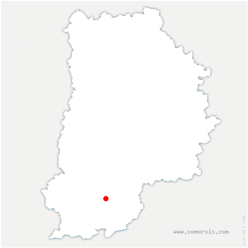 carte de localisation de Villemer